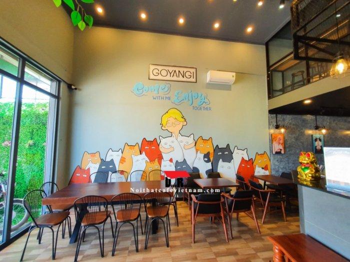 Bàn cafe nhóm chân sắt chữ X2