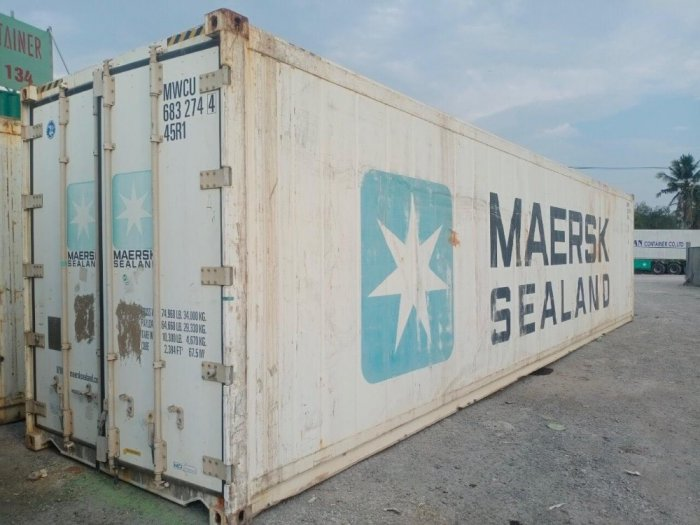 Container lạnh 40feet Hãng MAERSK2