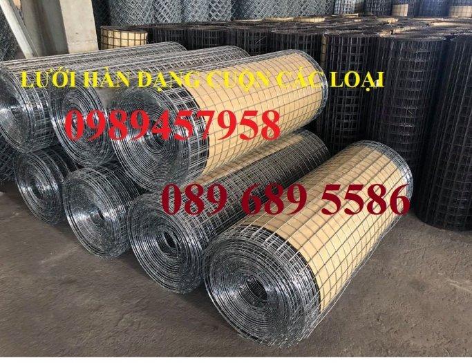 Lưới thép hàn dây 1ly, Lưới mạ kẽm 2ly, Lưới làm giàn lan 3ly và 4ly ô 50x50, 100x1000