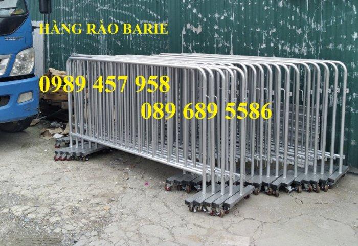 Hàng rào sơn phản quang, Hàng rào di động phân luồng giao thông, Hàng rào barie3