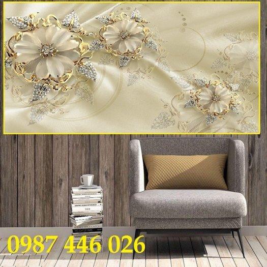 Tranh 3d, gạch ốp tường, tranh trang trí đẹp HP045515
