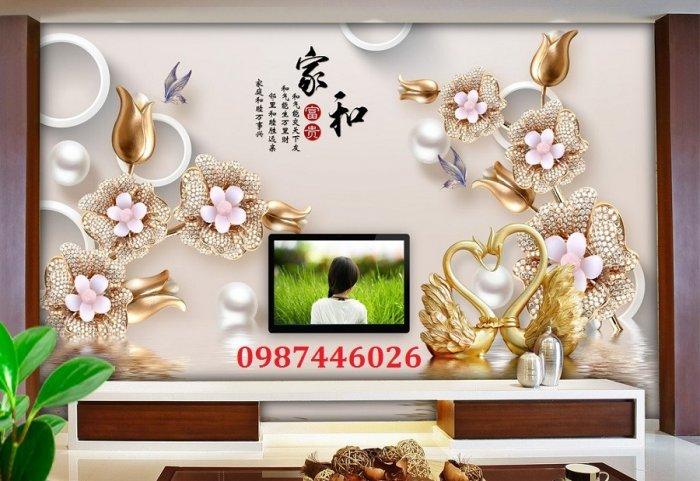 Tranh 3d, gạch ốp tường, tranh trang trí đẹp HP045514