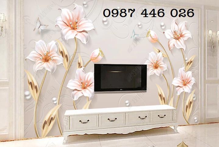 Tranh 3d, gạch ốp tường, tranh trang trí đẹp HP04552