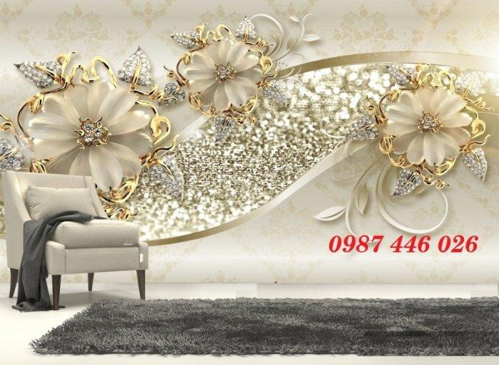 Tranh 3d, gạch ốp tường, tranh trang trí đẹp HP04551