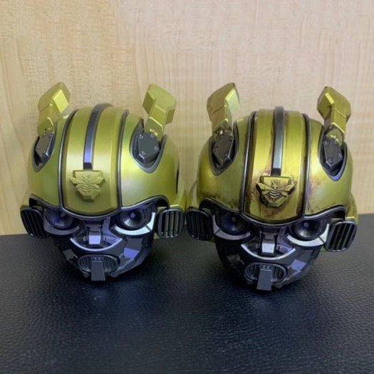 Loa Bluetooth Kiểu Dáng Transformers Bumblebee, Kiêm Đài FM, Âm Thanh Siêu Trầm Hay BH 3T7