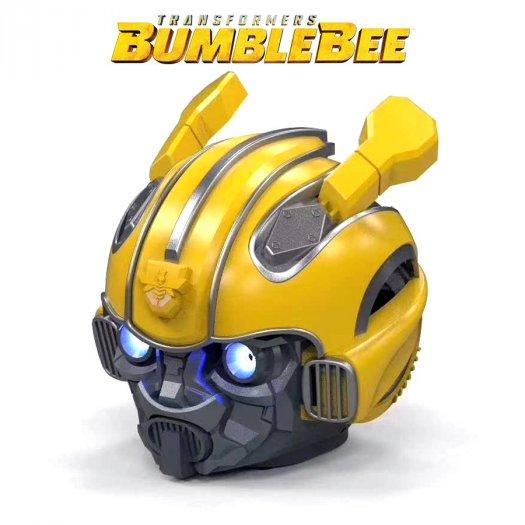 Loa Bluetooth Kiểu Dáng Transformers Bumblebee, Kiêm Đài FM, Âm Thanh Siêu Trầm Hay BH 3T3