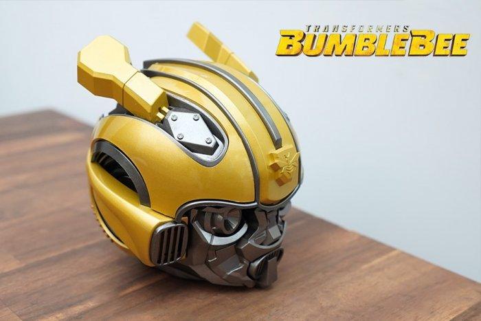 Loa Bluetooth Kiểu Dáng Transformers Bumblebee, Kiêm Đài FM, Âm Thanh Siêu Trầm Hay BH 3T1