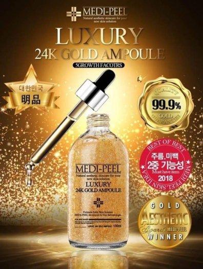 Tinh Chất Vàng Serum Medi Peel Luxury 24K Gold Ampoule 100ml0