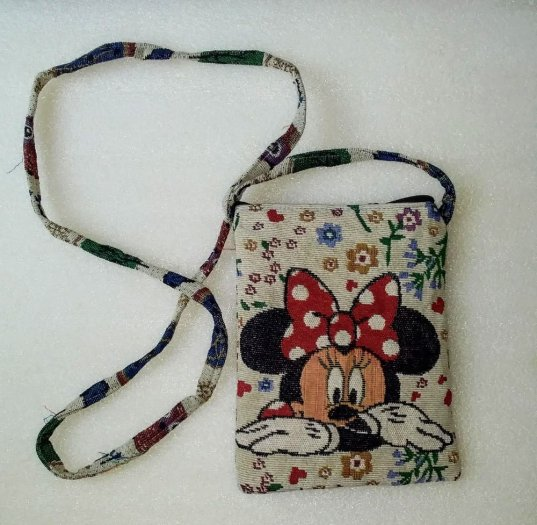 Túi đeo điện thoại vải thổ cẩm3