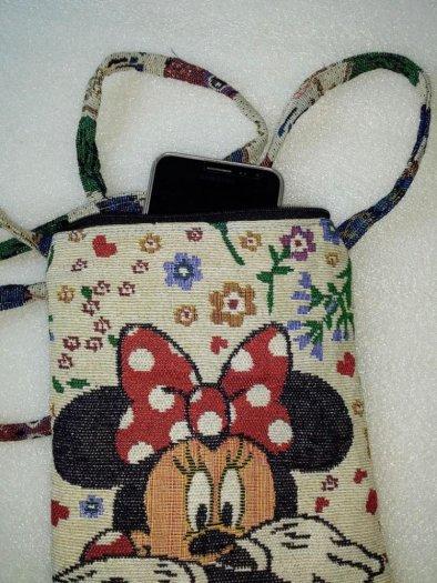 Túi đeo điện thoại vải thổ cẩm1