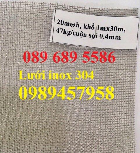 Lưới inox sấy thực phẩm, Lưới chống muỗi, Lưới lọc thực phẩm inox316, inox 2016