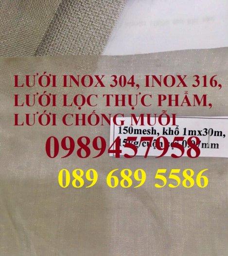 Lưới inox sấy thực phẩm, Lưới chống muỗi, Lưới lọc thực phẩm inox316, inox 2014