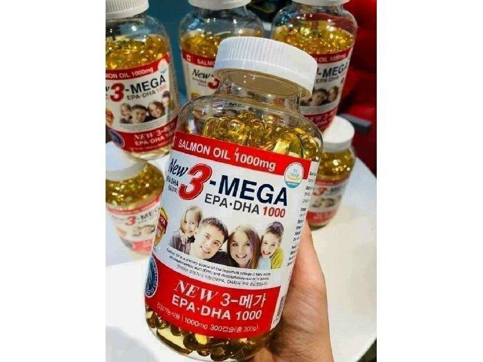 Dầu cá OMEGA3 Hàn Quốc chính hãng0