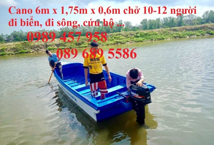 Cano 4 đến 10 người người du lịch, cứu hộ, vận tải hàng hóa cứu trợ3
