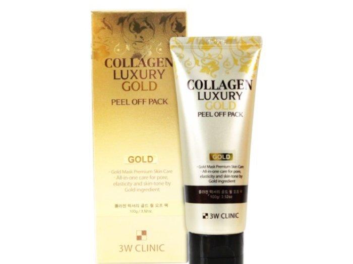 Mặt nạ vàng 3W Clinic Collagen Luxury1
