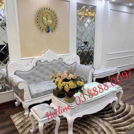 Sofa cổ điển - bộ bàn ghế sofa tân cổ điển cao cấp Q1 Q2 Q7 Q96