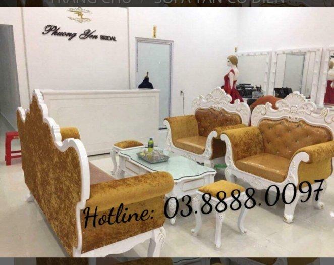Sofa cổ điển - bộ bàn ghế sofa tân cổ điển cao cấp Q1 Q2 Q7 Q95
