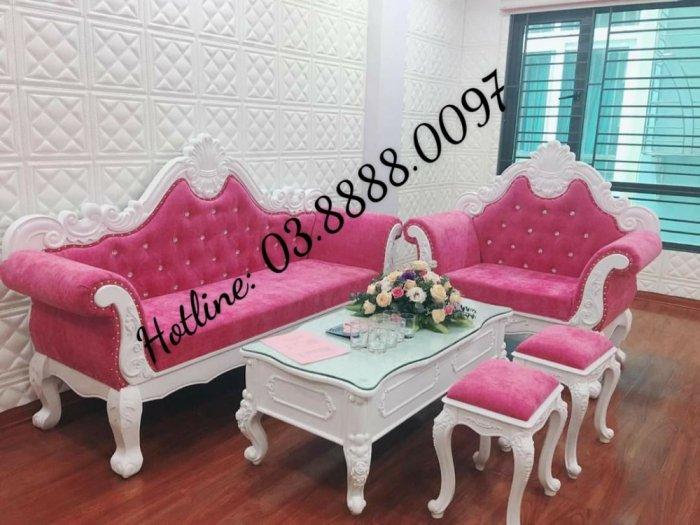 Sofa cổ điển - bộ bàn ghế sofa tân cổ điển cao cấp Q1 Q2 Q7 Q92