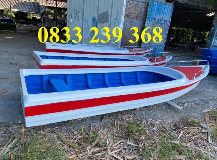 Thuyền composite  chở 4,6, 8, 10 người giá tốt,6