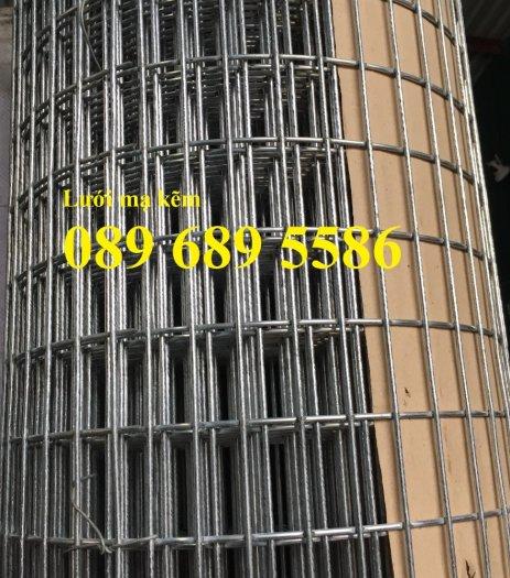 Lưới mạ kẽm phi 2 ô 25x25, 50x50, Lưới thép dây 1ly ô 10x10, 20x201