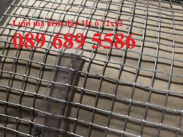 Lưới mạ kẽm phi 2 ô 25x25, 50x50, Lưới thép dây 1ly ô 10x10, 20x200