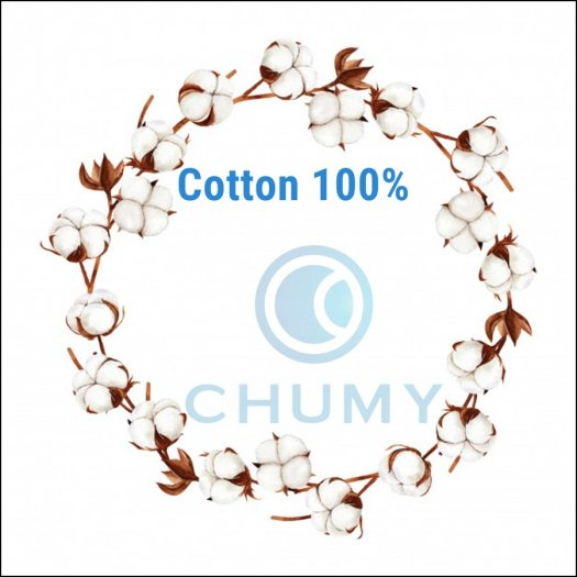 Vỏ gối Cotton 100% - Vỏ gối màu trắng trơn - Vỏ gối mát mẻ, mềm mịn, mềm mại4