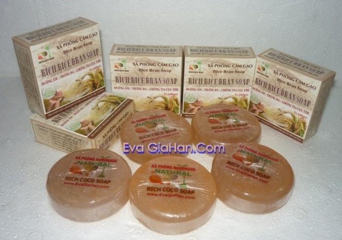 Gia công sản xuất Xà phòng (bông) cám gạo dầu dừa nguyên chât Rice Bran Soap, nguồn hàng xà bông dầu dừa sỉ Gọi 0975603004 - Mr Sơn 0