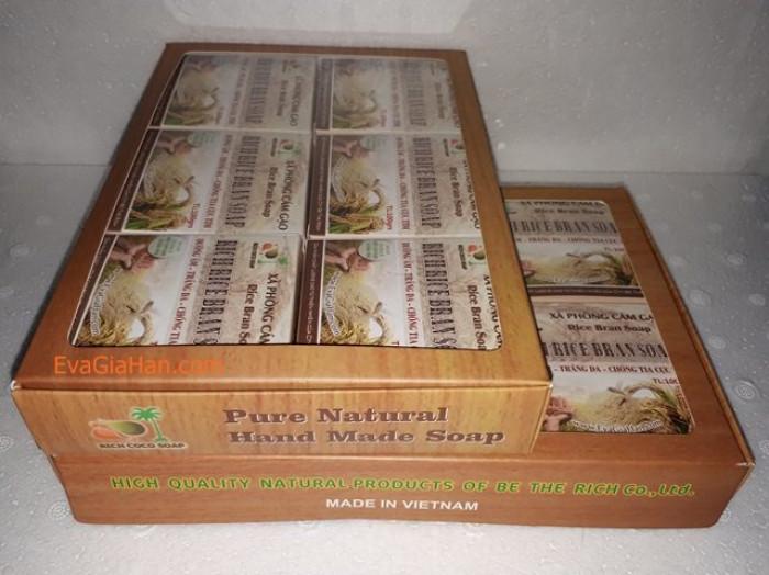 Gia công sản xuất Xà phòng (bông) cám gạo dầu dừa nguyên chât Rice Bran Soap, nguồn hàng xà bông dầu dừa sỉ Gọi 0975603004 - Mr Sơn 1