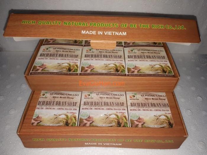 Gia công sản xuất Xà phòng (bông) cám gạo dầu dừa nguyên chât Rice Bran Soap, nguồn hàng xà bông dầu dừa sỉ Gọi 0975603004 - Mr Sơn 4