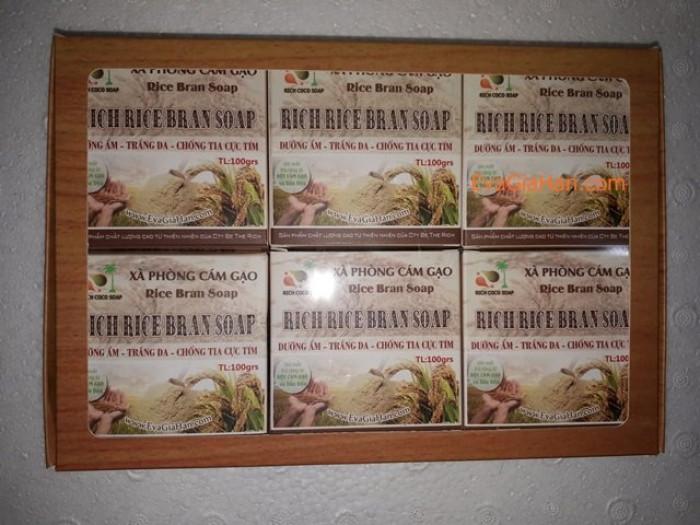 Gia công sản xuất Xà phòng (bông) cám gạo dầu dừa nguyên chât Rice Bran Soap, nguồn hàng xà bông dầu dừa sỉ Gọi 0975603004 - Mr Sơn 5