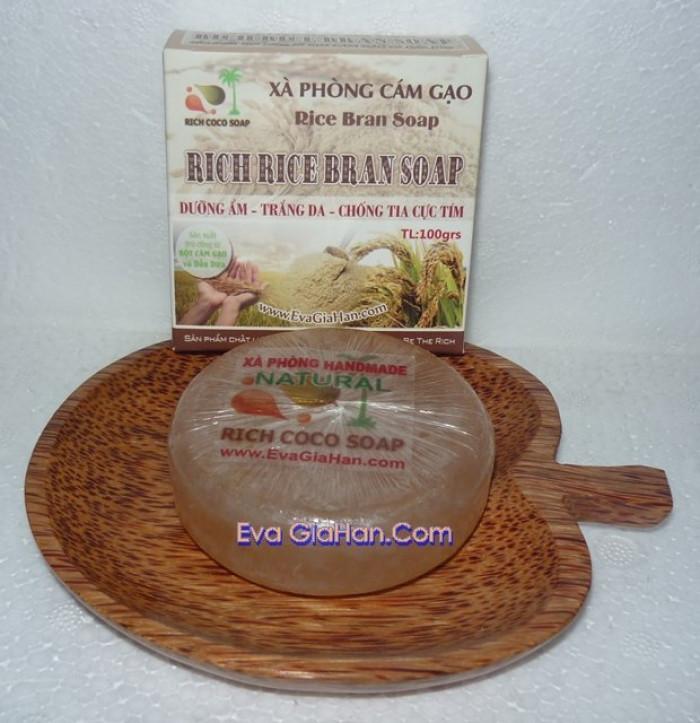 Gia công sản xuất Xà phòng (bông) cám gạo dầu dừa nguyên chât Rice Bran Soap, nguồn hàng xà bông dầu dừa sỉ Gọi 0975603004 - Mr Sơn 6