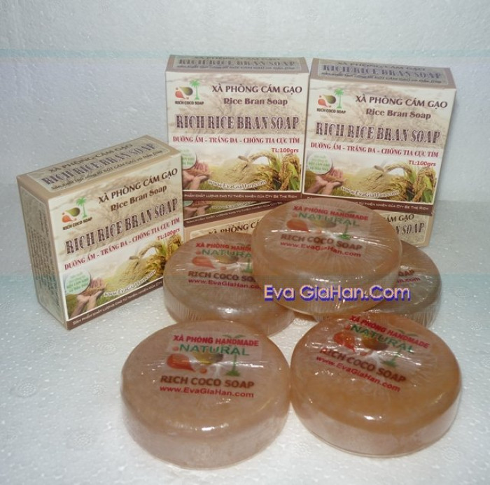 Gia công sản xuất Xà phòng (bông) cám gạo dầu dừa nguyên chât Rice Bran Soap, nguồn hàng xà bông dầu dừa sỉ Gọi 0975603004 - Mr Sơn 7