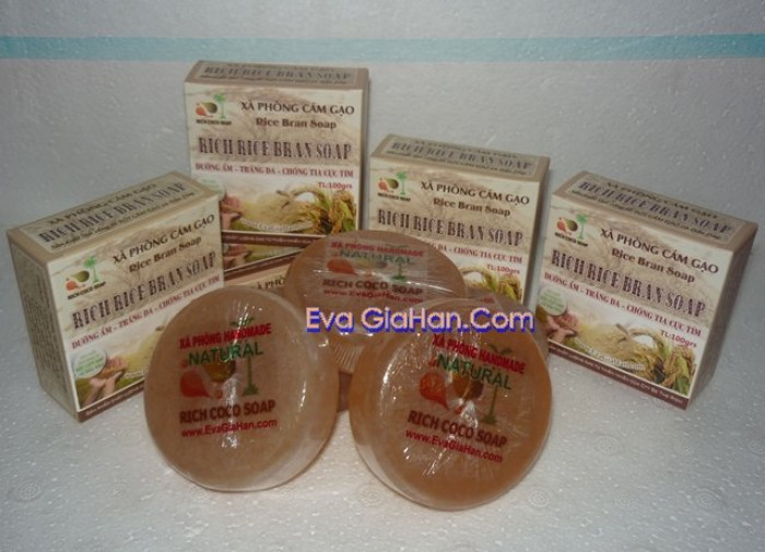 Gia công sản xuất Xà phòng (bông) cám gạo dầu dừa nguyên chât Rice Bran Soap, nguồn hàng xà bông dầu dừa sỉ Gọi 0975603004 - Mr Sơn 8