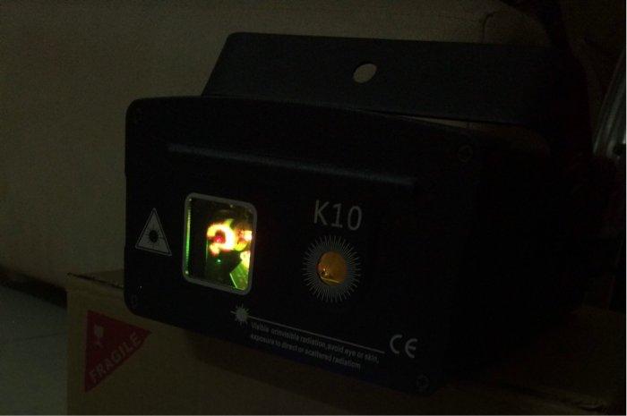 Đèn laser K10 3D phòng karaoke,bar...0