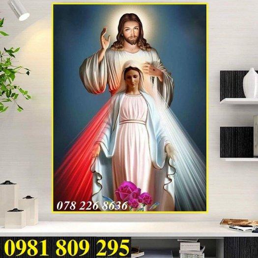 Gạch tranh - công giáo khổ đứng- gạch tranh 3d2