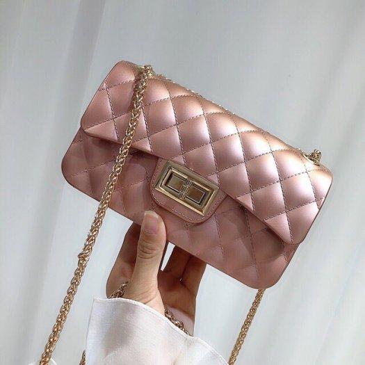 Túi đeo chéo silicon nhựa hàng quảng châu cầm nặng tay3