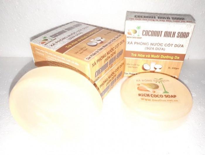 Sản xuất  xà phòng Organic nước cốt  dừa nguyên chất  0975603004 - Mr Sơn 0