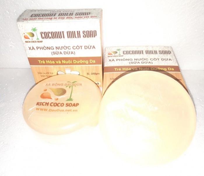 Sản xuất  xà phòng Organic nước cốt  dừa nguyên chất  0975603004 - Mr Sơn 6