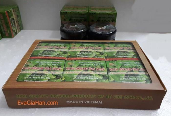 Sản xuất xà phòng trà xanh dầu dừa green tea Soap Gọi 0975603004 - Mr Sơn
