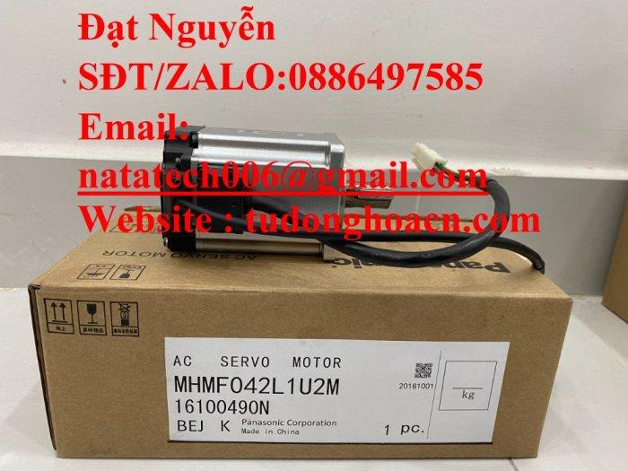 Động cơ servo MHMF042L1U2M panasonic giá rẻ0