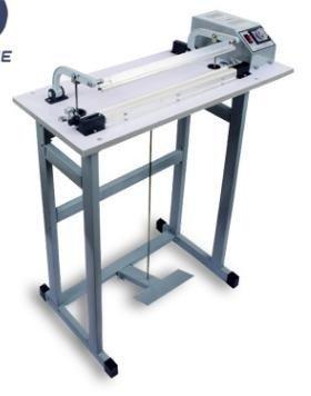 Máy hàn túi dập chân SF800, máy ép miệng bao nilon, máy ép túi nhựa dài 80cm0
