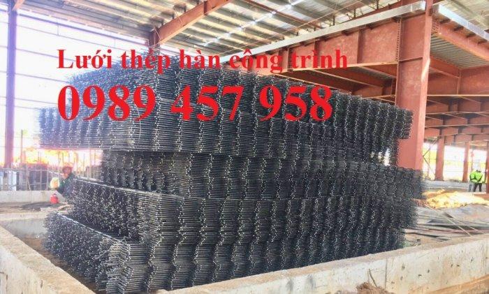 Sản xuất Lưới thép hàn phi 6, lưới đổ bê tông phi 6 ô 200x200, Lưới thép gân phi 6, phi 85