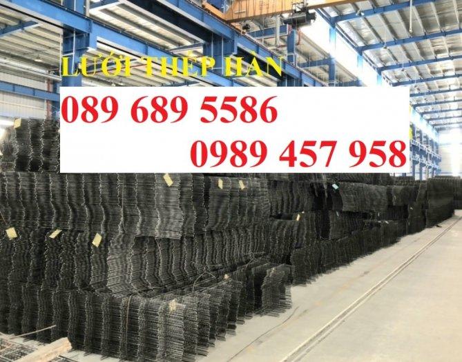 Nơi sản xuất Lưới thép phi 8 a 200x200 và Thép phi 10 a 200x200, D10 a 200x2006