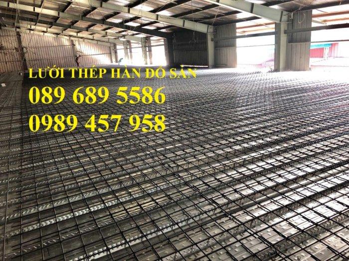 Nơi sản xuất Lưới thép phi 8 a 200x200 và Thép phi 10 a 200x200, D10 a 200x2001