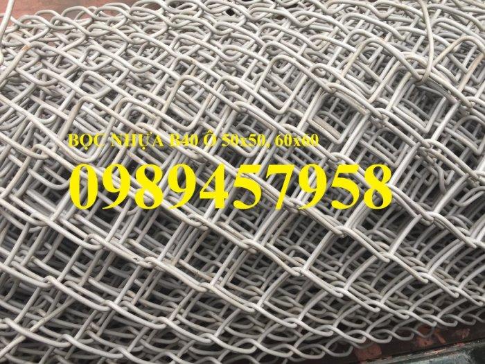 Lưới bọc nhựa b40 làm hàng rào, Lưới làm sân tennis, Lưới làm sân bóng2