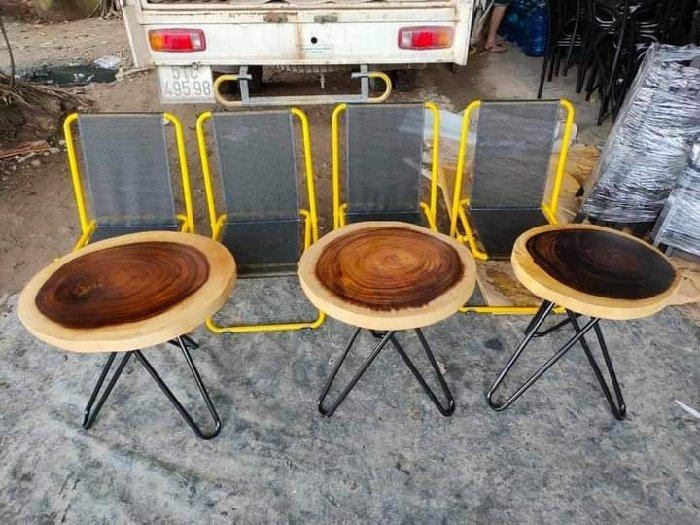 Bàn ghế gỗ me tây đủ kích cỡ giá sỉ tại0