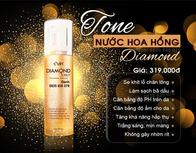 Nước hoa hồng - Toner diamond cvin0