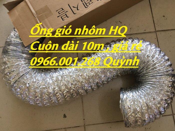Địa chỉ phân phối  ống gió mềm nhôm , ống gió bạc phi 75,phi 100,phi 125,phi 150,phi 200 giá rẻ8