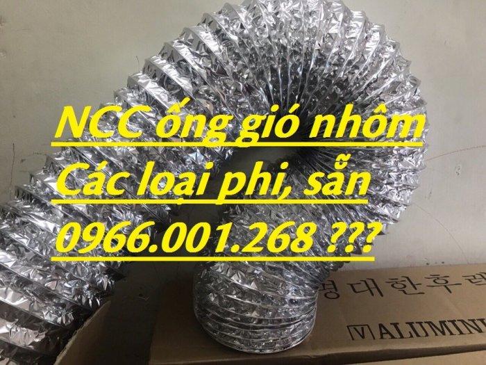 Địa chỉ phân phối  ống gió mềm nhôm , ống gió bạc phi 75,phi 100,phi 125,phi 150,phi 200 giá rẻ7