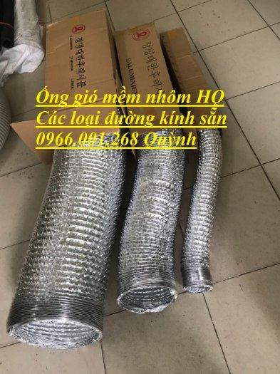 Địa chỉ phân phối  ống gió mềm nhôm , ống gió bạc phi 75,phi 100,phi 125,phi 150,phi 200 giá rẻ2
